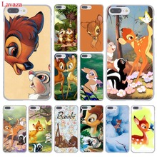 Sika deer Bambi Hard Case Transparent Cover for iPhone 7 7 Plus 6 6S Plus 5 5S SE 5C 4 4S