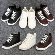 1Pair New Doll Accessories Balck Brown White BJD Shoes Doll 1/4 1/3
