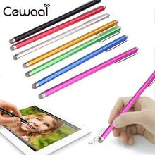 Cewaal Portable Mini Metal Capacitor Touch Screen Pen Mobile Phone Stylus for iPhone for Samsung Smart Mobile Phone Tablet PC(China)