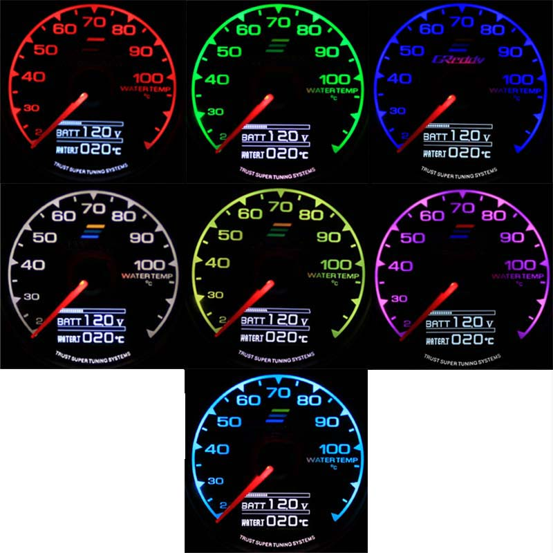 7-Color-in-Gauge-Turbo-Boost-Gauge-GRedi-7-Light-Colors-LCD-Display-With-Voltage-Meter (3)