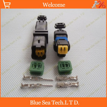 Sample,1 set 2Pin car connector,FO Turn light Plug,FO lamp socket,FCI Car Sensor connector for PEUGEOT,Citroen etc.
