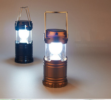 Multifunctional Retractable Charge Lantern Lamp LED Solar Light Outdoor Camping Tent Light