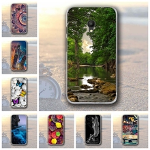 Luxury Phone Case For Alcatel Pixi 4 (5) 5045X 5045D 5.0 Inch Case Soft TPU Painting Cover For Alcatel Pixi 4 (5) 5045 OT-5045