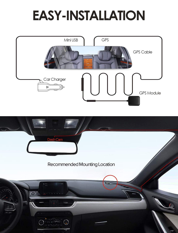 AZDOME GPS Module for Dash Cam