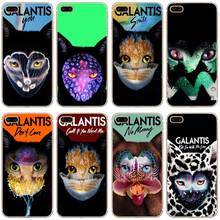 H488 Galantis In My Head Cat Transparent Hard Thin Case Cover For Apple iPhone 4 4S 5 5S SE 5C 6 6S 7 Plus