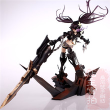 Hot Game Anime Insane Black Rock Shooter 1/8 Scale Huge 40cm Action Figure(China)