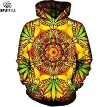 Psychedelic Weed Hoodies Sweatshirt Men Women 2017 Long Sleeve Autumn Hooded Hat Sudaderas Hombre Brand Tracksuit Dropship