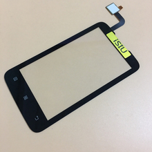 iSIU Replacement For Lenovo A316i Touch Screen A316 Mobile Phone Touch Panel Glass Digitizer Sensor Black Repair NO LCD DISPLAY(China)