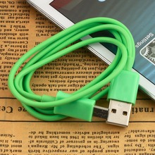 New Arrival Micro USB 2.0 Male A to Data Charger Cable for Android MID Amazon Kindle fire 4 Green  Hot