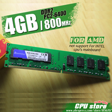 New 4GB DDR2 PC2-6400 800MHz For Desktop PC DIMM Memory RAM 240 pins For AMD System High Compatible each side 8chips