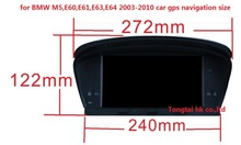 8 inch HD 1080P Car GPS Navigation for BMW M5,5er E60 E61 E63 E64(2003-2010),BT, IPOD,canbus,English,russian,protugeuse,spanish