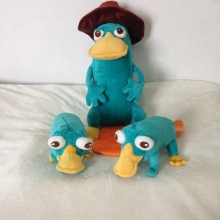 Original Phineas and Ferb Perry the Platypus Plush Toy Cute Stuffed Animals Kids Toys for Children Christmas Gifts