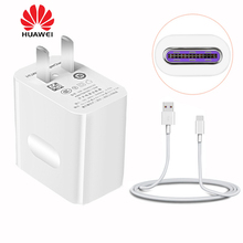Huawei P10 Phone Charger Adapter Huawei mate 9 Fast Charger 4.5V 5A Quick Wall Usb Charger 2a With 1M Usb Type C Cable(China)