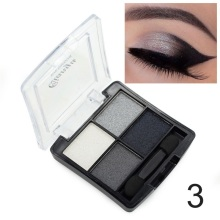 4 Colors Matte Shimmer Palette Eyeshadow Set Beauty Eye Shadow Makeup Cosmetic