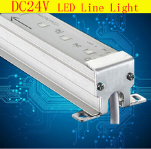 New Fashion Led outline lights Aluminum Housing IP66 Irrigation Waterproof DC24 Led Linear Light for building outdoor decoration(China)