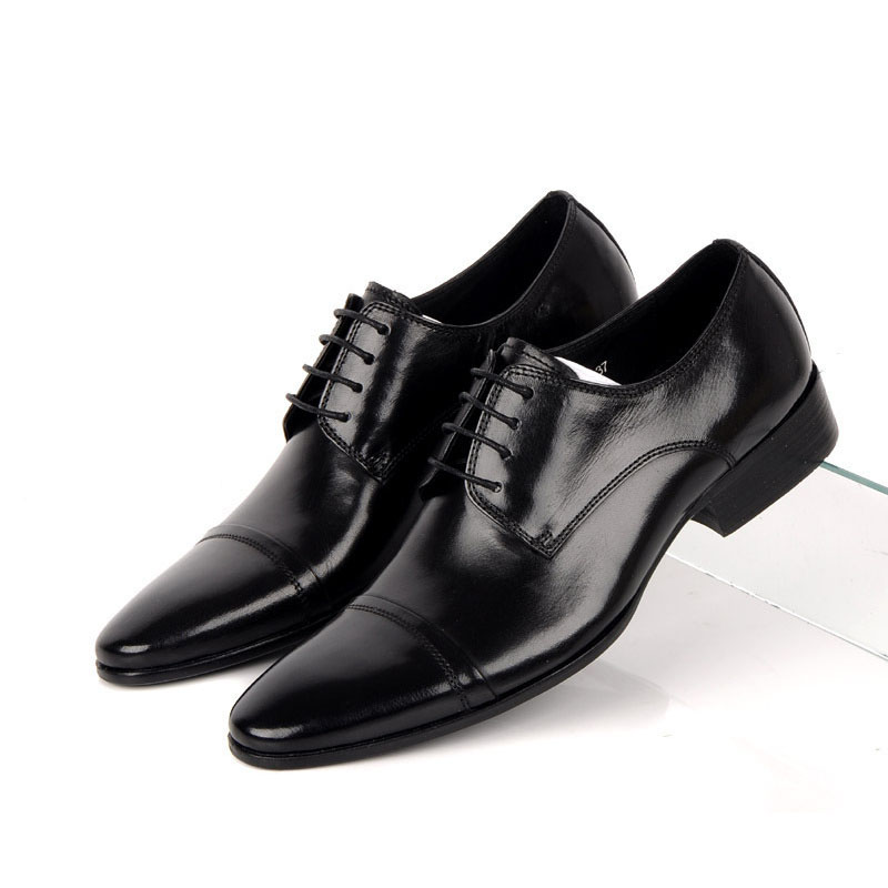 2016 Handmade Designer Mens Dress Shoes Genuine Leather Soft Comfortable Round Toe Luxury Wedding Shoes Men Flats for Business<br><br>Aliexpress