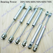 20N/30N/40N/50N/60N/70N Load Bearing Lift Up Hydraulic Gas Spring Casting Aluminum cabinet kitchen Cupboard support(China)