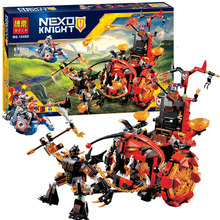BELA 10489 14005 Nexo Knights Jestro Evil Mobile Combination Marvel Building Blocks Kits Toys Compatible Nexus - Shop2963092 Store store