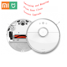 Xiaomi Mijia Roborock Vacuum Cleaner 2 S50 Smart Cleaning Sweeping Mopping 2in1 Path Planning for Home International Version(China)