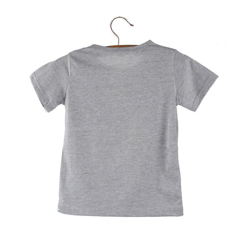 Toddler Boy Headphone Print Children T-shirts 25