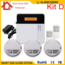 Fire Alarm House Wireless Security Home GSM Alarms Systems X6