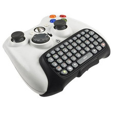 Mini Wireless Keyboard of Computer Game mechanical Keyboards Chat Pad for Microsoft Controller wireless keyboard for Xbox 360(China)