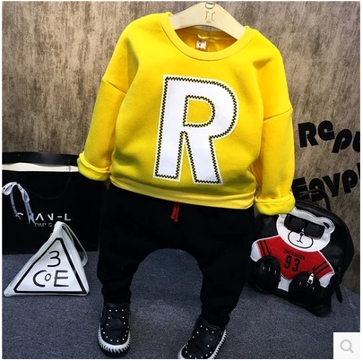 Leisure suits the new winter 2016 private letters fleece + wet pants pants two-piece suit free shipping<br><br>Aliexpress