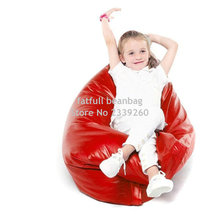 Cover only  No Filler - 	red pillow bean bag cushion , 40inch x 52inch big size portable beanbag sofa seat, waterproof