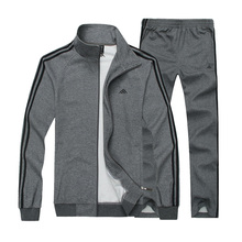 2017 New Men Sportwear Sports Set Male Gym Clothing Jogger Jogging Suit Running Outdoors Tracksuits Plus Size 6XL 7XL 8XL 110wy(China)