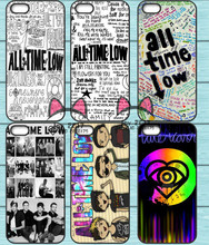 All Time Low Band TPU Phone Case for Iphone 4S 5S SE 5C 6 6S 7 Plus Sony Z2 Z3 Compact Z4 Z5 Mini HTC M7 M8 M9 820(China)