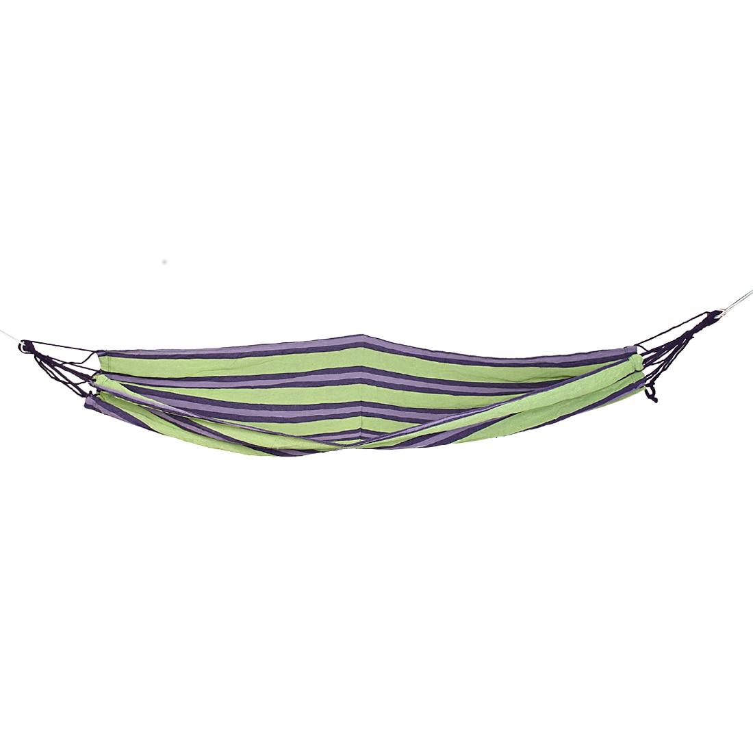 Striped Pattern Outdoor Camping на 280 см X 82 см, вешающий единственную кровать холста гамака ремень Грина В