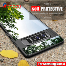 For Samsung Galaxy S8 Case Full Protective Slim TPU Acrylic Transparent Back Cover Case for Samsung Galaxy S7 Edge S8 plus Case(China)