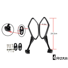 Buy Universal Motorbike MOTO Motorcycle Scooters Racer Rearview Back Side View Mirror KAWASAKI Z750 Z800 Z1000 2007 2008 2009 for $27.92 in AliExpress store