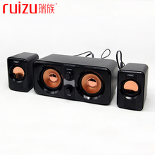 3W*2+5W Super Stereo Bass 3D Surround HIFI Multimedia Player Subwoofer USB Speaker Loudspeaker for PC Computer Laptop Notebook(China)