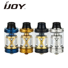 Original IJOY EXO XL Subohm Atomizer 5ml Top fill EXO XL Tank fit XL-C2/XL-C3/XL-C4/XL-2S RTA deck coils Huge Vapor Tank 510