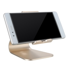 Universal Aluminum Desktop Tablet Phone Holder Stand Mount For iPhone 7 For iPad Non-slip Tablet Stand Holder For Samsung(China)