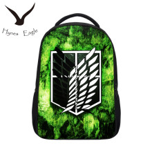 Hynes Eagle Mochilas New Arrival Hot Sale Top Quality Direct Selling Cartoon School Bag Anime Attack On Titan Mochila Backpack