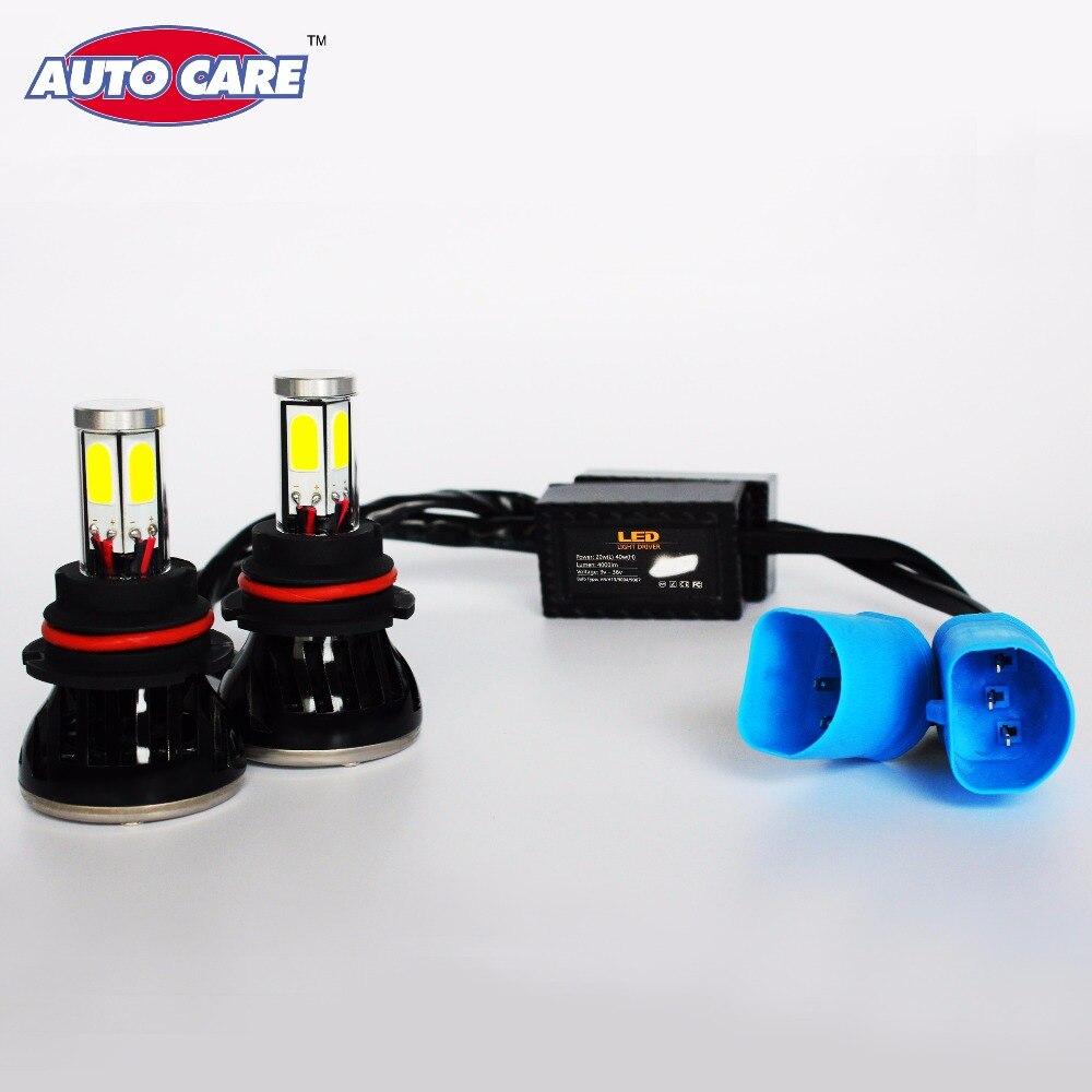 Auto Care 9007 HB5 Car LED Headlight Fog DRL Lamp High Low Hi/Lo Automobile Headlight High Power 40W Auto Headlamp Light Bulbs<br><br>Aliexpress