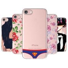 Sexy Girl Summer Twerk Swag Soft Clear Phone Case Coque Fundas Cover Capa Apple iPhone 7 7Plus 6 6S 6Plus 8 8PLUS X 5S