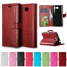 "Case for Huawei Y5ii CUN-U29 CUN-L21 / Y5 ii 2 CUN U29 L21 5.0"" inch Flip Case Phone Leather Cover for Huawei Y 5ii Y 5 II(China)"