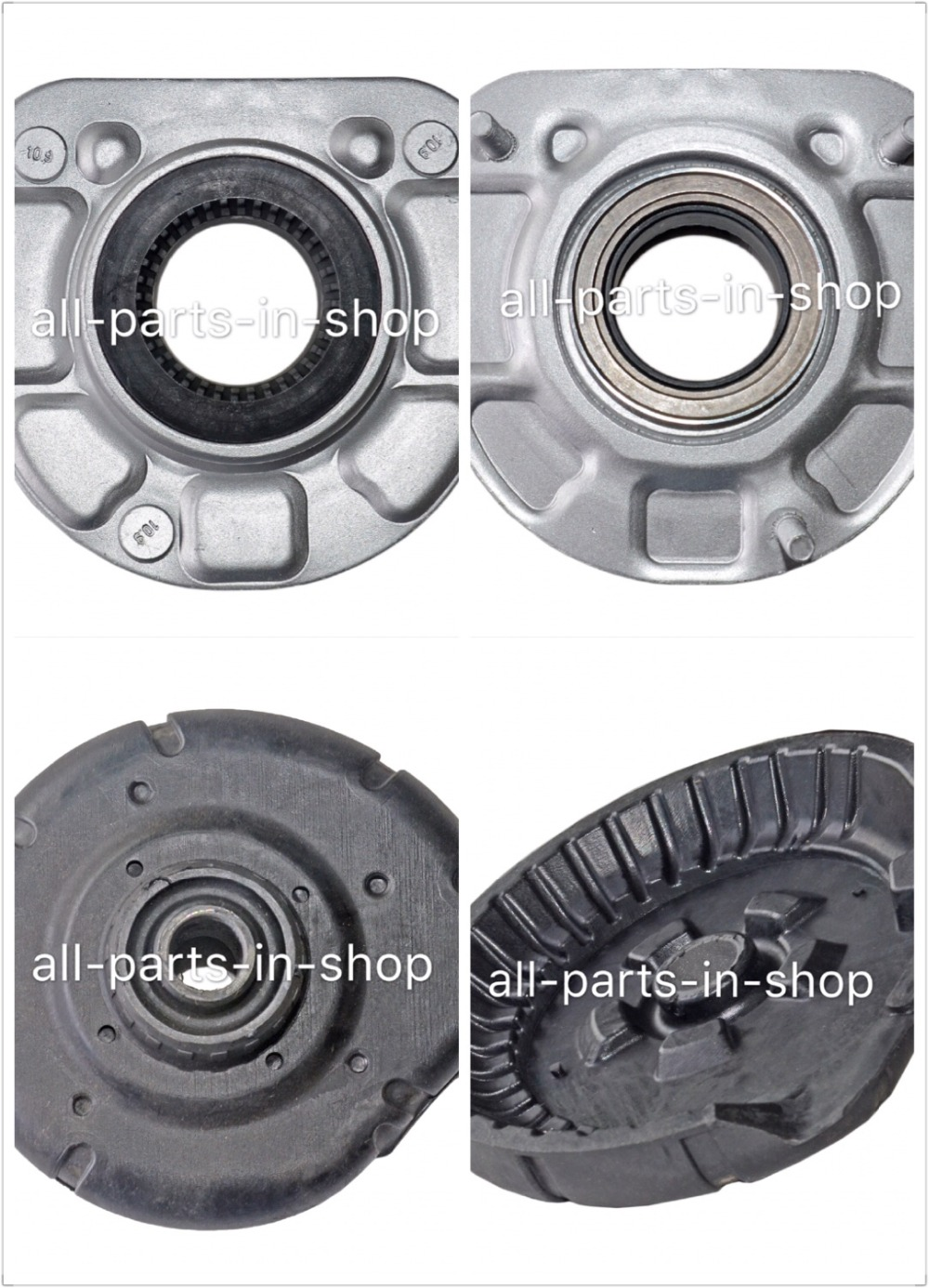 Strut support for volvo front strut mount and spring seat bushing s80 s60 v70 xc70 xc90