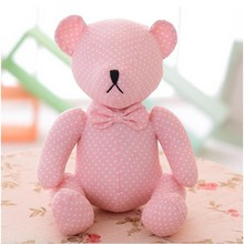 Hot Sale Creative 30cm Sitting Pink Bear DIY  Rilakkuma Bear Plush Toy Stuffed Animal Dolls Kids Gifts Christmas Gifts