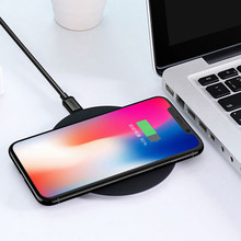 Wireless charger Base Fast Charge For Iphone 8 /x & Android For iPhone X 8 Samsung Note 8 S8 Plus S7 S6 Edge Phone Fast Wireless(China)