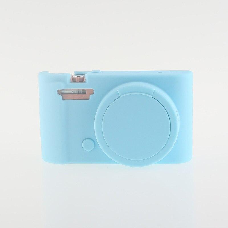 Soft Silicone Rubber Camera Bag Protective Body Case for Casio ZR5000 5500 5300-13