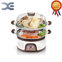 220V Food Warmer Steamer Bun Warmer Cooking Appliances Steamed Electric Steamer 6-8L(China)
