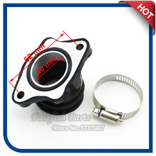 30mm Upgrade Carburetor Intake Manifold pipe For 200cc 250cc Dirt Bike ATV Quad Buggy Motorcycle Parts