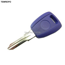 TEMREIPO 20pcs/lot Replacement Car Key For Fiat transponder Key Shell Blank Key No Chip Fob with logo