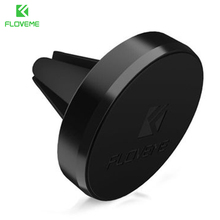 FLOVEME Car Phone Holder For iPhone X 8 7 6 6s Plus Pop Magnetic Air Vent Mount Stand Holder Socket For Xiaomi Redmi 4X Note 3 4(China)