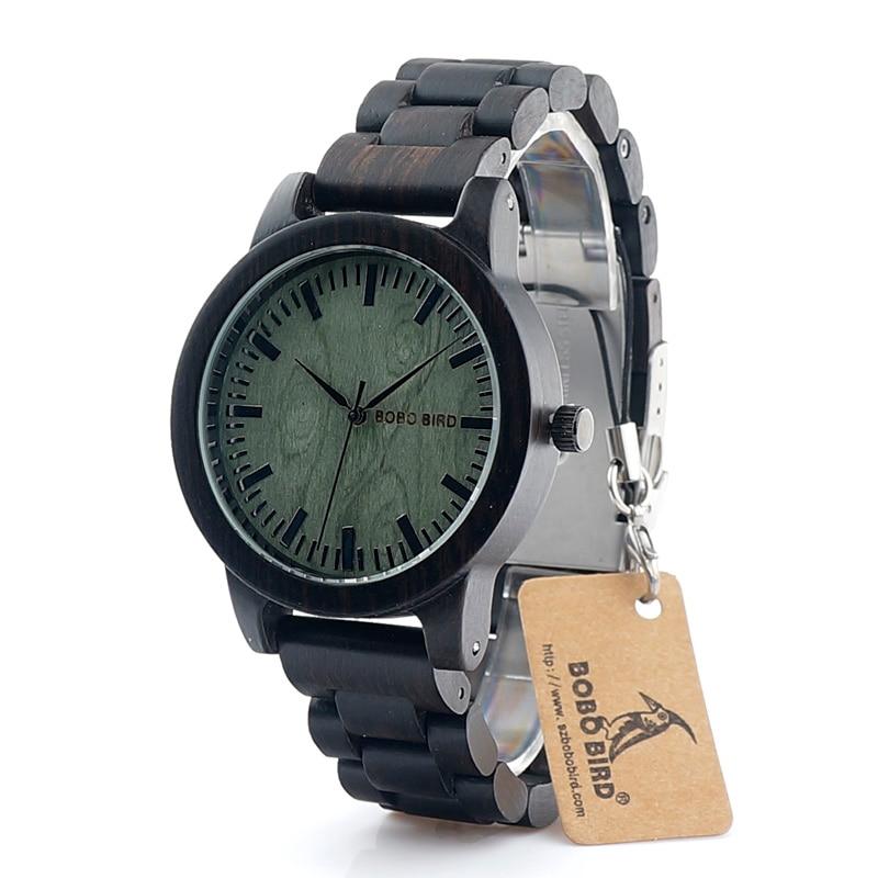 BOBO BIRD 2017 New Arrival M4 Ebony Men Watch Top Luxury Brand All Wood Quartz Wristwatch in Gift Box reloj hombre<br><br>Aliexpress