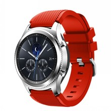 For Samsung Gear S3 Frontier / Classic Watch Band   Soft Silicone strap Replacement Bracelet  Strap 22mm